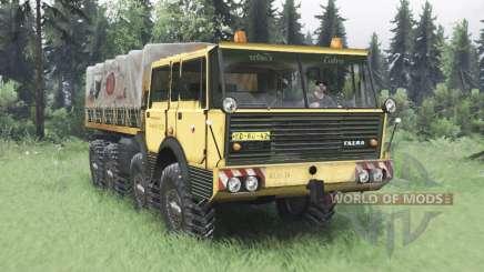 Tatra T813 TP 8x8 1967 v1.6 pour Spin Tires