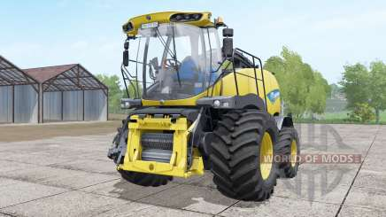 New Holland FR850 double front wheels pour Farming Simulator 2017
