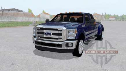 Ford F-350 King Ranch Crew Cab 2011 pour Farming Simulator 2017