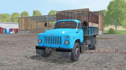 GAZ 53 4x4 ensilage pour Farming Simulator 2015