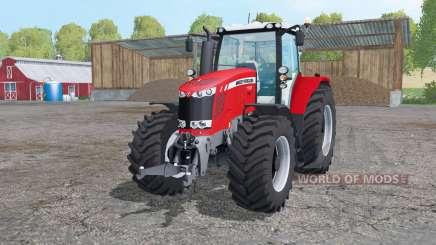 Massey Ferguson 7722 animation parts pour Farming Simulator 2015
