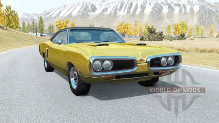 Dodge Coronet RT (WS23) 1970 v3.3 pour BeamNG Drive