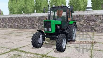MTZ-82.1 de la Biélorussie avec l'animation de la lumière verte pièces pour Farming Simulator 2017
