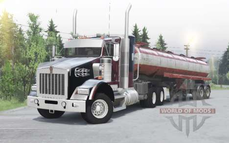 Kenworth T800 pour Spin Tires