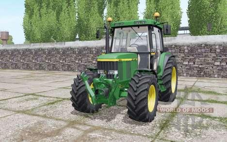 John Deere 6410 wheels selection pour Farming Simulator 2017