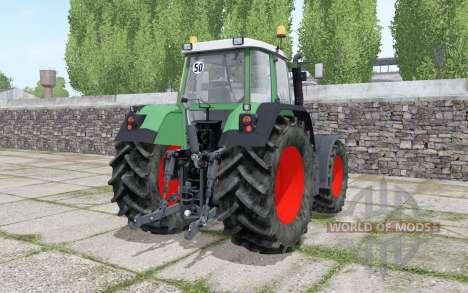 Fendt 716 Vario TMS Continental wheels pour Farming Simulator 2017