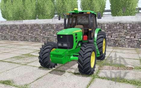 John Deere 6180J double wheels pour Farming Simulator 2017