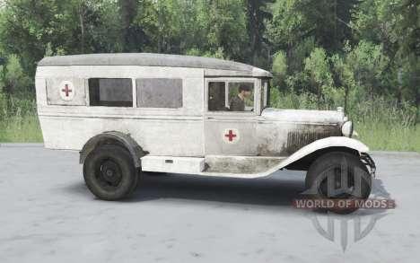 GAZ 55 1938 Sanitaires v1.5 pour Spin Tires