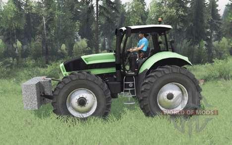 Deutz-Fᶏhr Agrotron X 720 pour Spin Tires