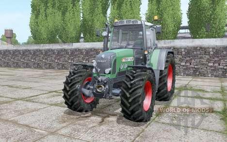 Fendt 716 Vario TMS tyre selection pour Farming Simulator 2017