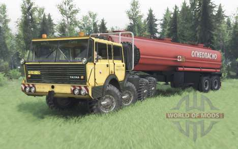 Tatra T813 TP 8x8 1967 Kings Off-Road 2 pour Spin Tires