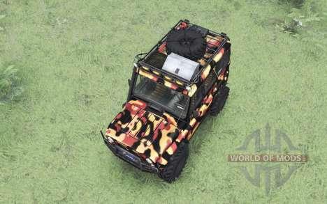 UAZ 31514 de la Toundra pour Spin Tires