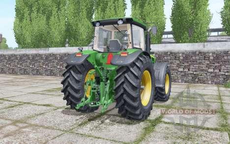 John Deere 8330 moving elements pour Farming Simulator 2017