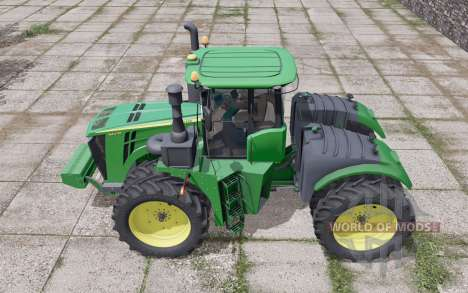 John Deere 9420R wheels selection pour Farming Simulator 2017