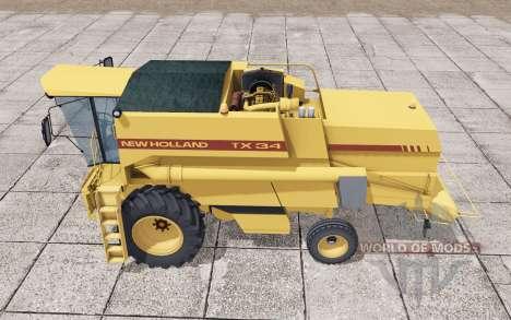 Nouveau Hⱺlland TX34 pour Farming Simulator 2017
