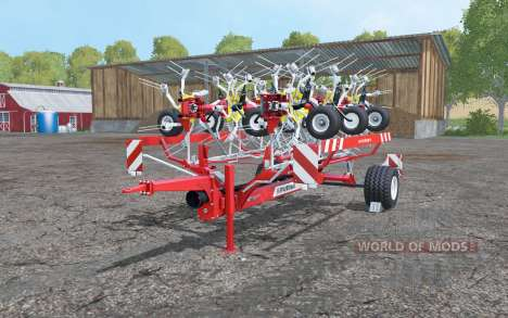 Pottinger Hit 12.14 T HD textures pour Farming Simulator 2015