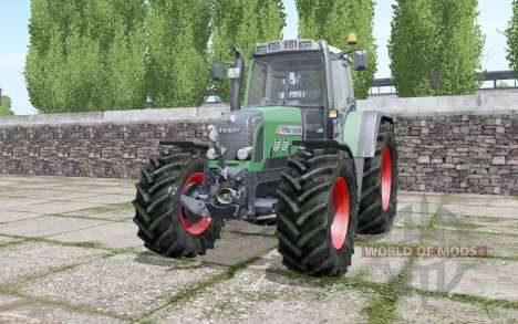 Fendt 820 Vario TMS wheels selection pour Farming Simulator 2017