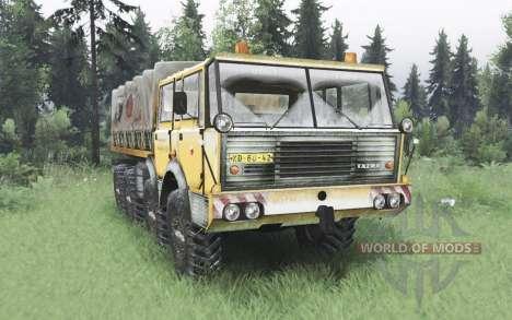 Tatra T813 TP 8x8 1967 hiver v1.6 pour Spin Tires