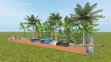 Fruit Farm - Coconut and Banana pour Farming Simulator 2017