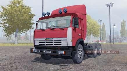 KamAZ 54115 remorque Odaz 9370 pour Farming Simulator 2013