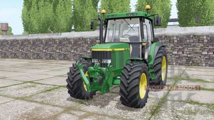 John Deere 6410 wheels selection für Farming Simulator 2017