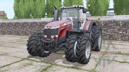 Massey Ferguson 8737 more options pour Farming Simulator 2017