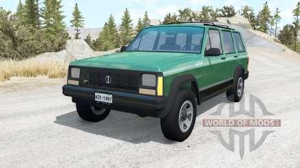 Jeep Cherokee (XJ) v1.1 für BeamNG Drive