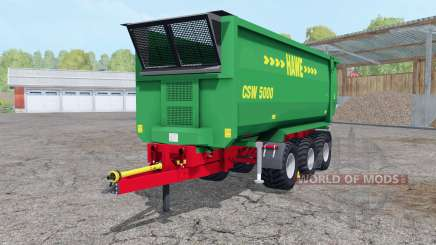 Hᶏwe CSW 5000 pour Farming Simulator 2015