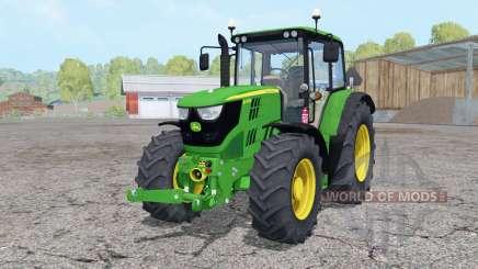 John Deere 6115M front loader für Farming Simulator 2015