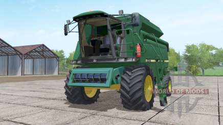 John Deere 2056 Michelin tires pour Farming Simulator 2017