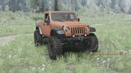 Jeep Wrangler (JK) pickup pour MudRunner