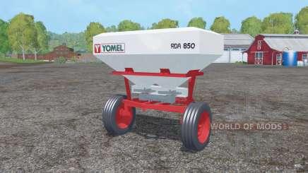 Yomel RDA 850 pour Farming Simulator 2015