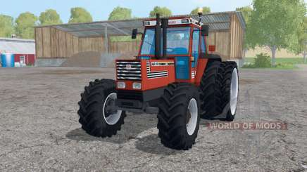 Fiat 160-90 Turbo DT dual rear wheels für Farming Simulator 2015