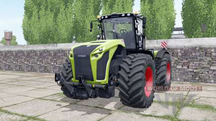 Claas Xerion 4000 engine configuration pour Farming Simulator 2017