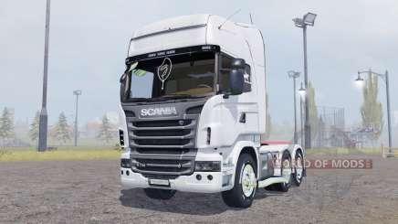 Scania R730 V8 Topline v2.0 pour Farming Simulator 2013