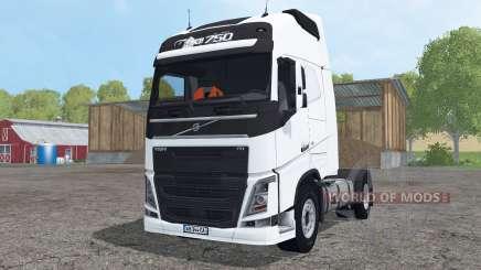 Volvo FH16 750 Globetrotter XL pour Farming Simulator 2015