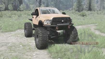 Dodge Ram 3500 Heavy Duty 2012 TTC pour MudRunner