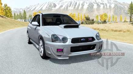 Subaru Impreza WRX STi (GDB) 2003 für BeamNG Drive