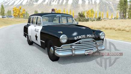 Burnside Special wagon Police pour BeamNG Drive