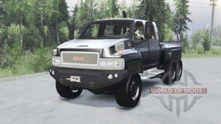 GMC TopKick C4500 6ᶍ6 pour Spin Tires