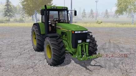 John Deere 8410 dual rear wheels für Farming Simulator 2013