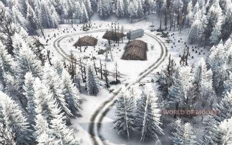 L'hiver de l'île pour Spin Tires