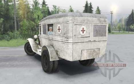 GAZ 55 1938 Sanitaires v1.5.1 pour Spin Tires