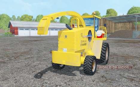 Nouveau Hollanɗ FX48 pour Farming Simulator 2015