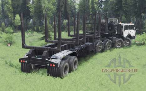 Tatra T813 TP 8x8 1967 Kings Off-Road 2 v1.1 pour Spin Tires