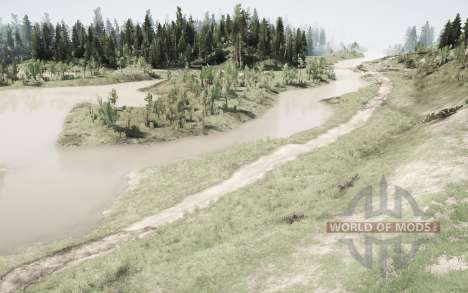 Route forestière pour Spintires MudRunner