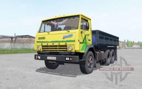 KamAZ 5320 avec une remorque NEPA 8560 pour Farming Simulator 2017