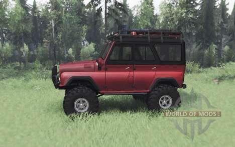UAZ 469 rouge v1.2 pour Spin Tires