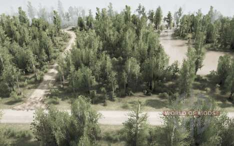 Back Woods - The Flood pour Spintires MudRunner