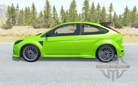 Ford Focus RS (DA3) 2009 pour BeamNG Drive